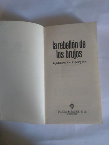 la rebelión de los brujos pauwels bergier manantial