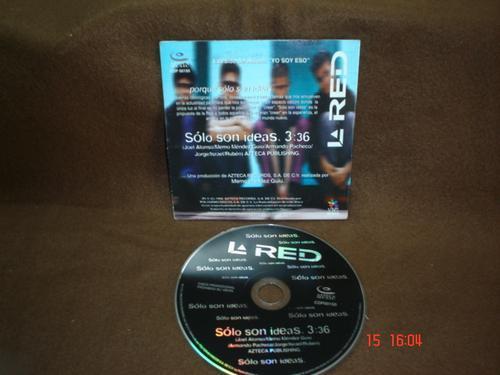 la red - cd single - solo son ideas lqe