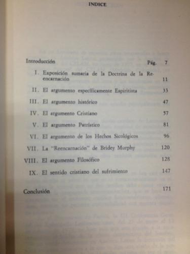 la reencarnación- boaventura kloppenburg - ed. paulinas