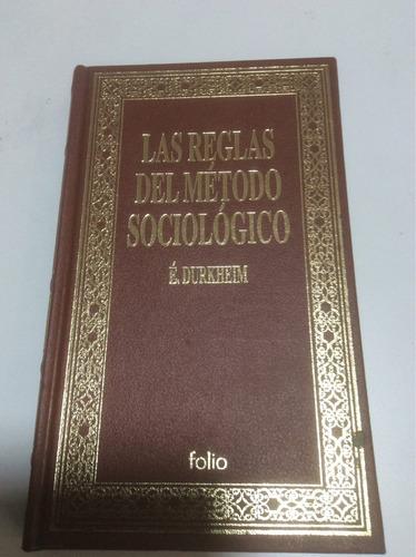 la reglas del método sociológico
