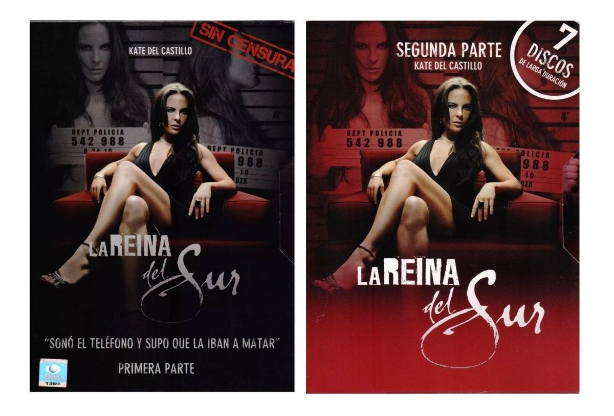LA REYNA DEL SUR,SERIE MEXICANA.PRIMERA TEMPORADA COMPLETA,12 DVDS