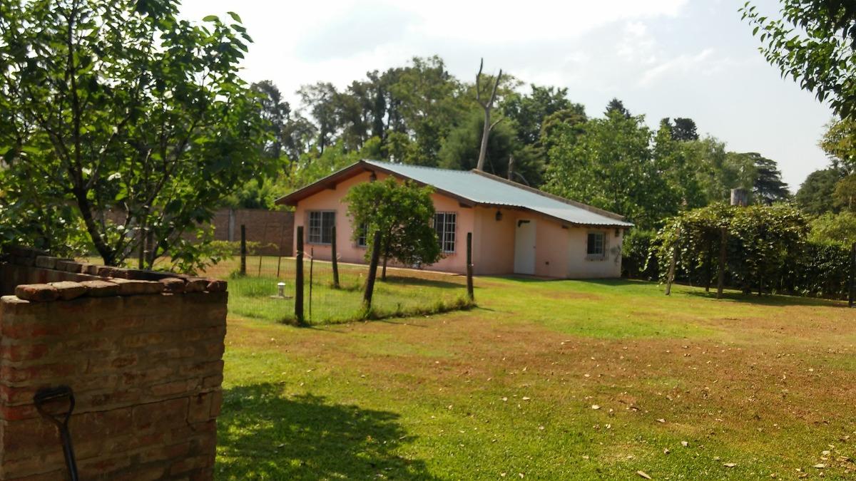 la reja centro, propiedad con dos casas