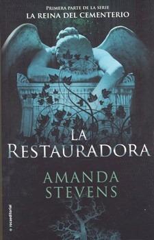 la restauradora - amanda stevens - libro