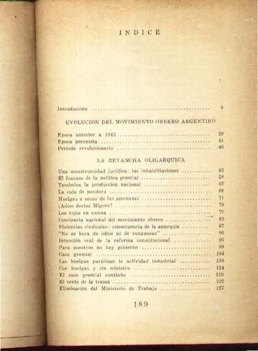la revancha oligárquica y el porvenir obrero puigbo, r.