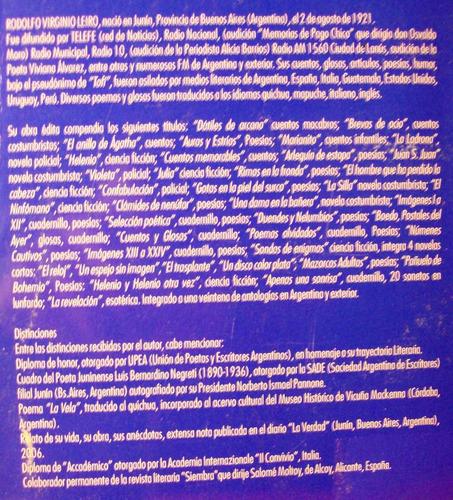 la revelación rodolfo leiro esotérico sofisma primer edición