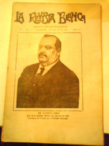 la revista blanca: magazine pop. nacionalista año 8 nº 216