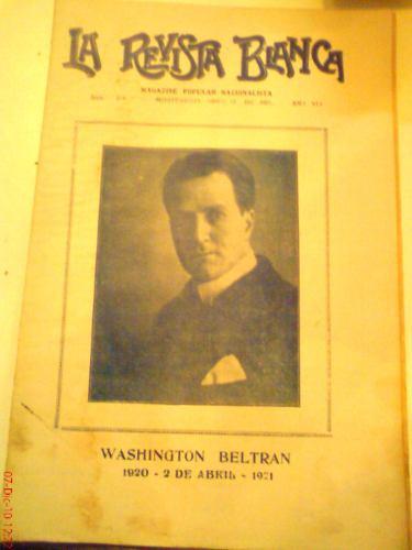 la revista blanca: semanario pop. nacionalista año 8 nº 218