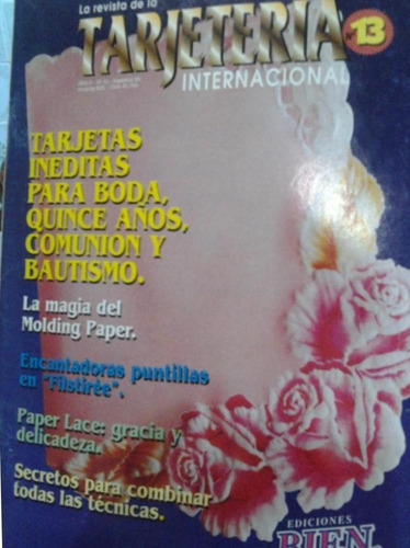 la revista de la tarjeteria internacional n° 13