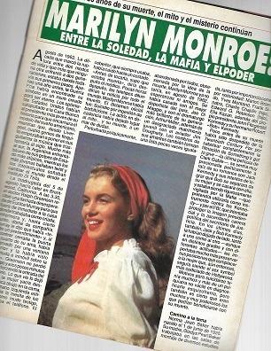 la revista del mundo_lady di_diana: biografía_marilyn monroe