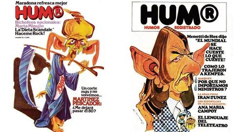 la revista humor y la dictadura libro gran formato cascioli