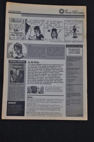la revisteria press n 6 comics historieta tintin meteoro