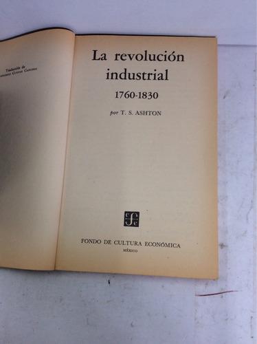 la revolución industrial, t. s. ashton