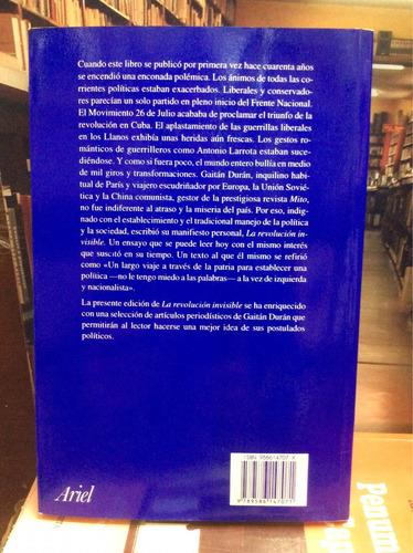 la revolución invisible. jorge gaitán durán. colombia