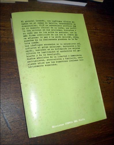 la revolucion libertadora _ marta lonardi - año 1980