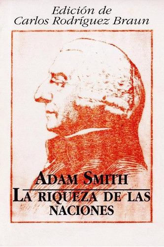 la riqueza de las naciones adam smith