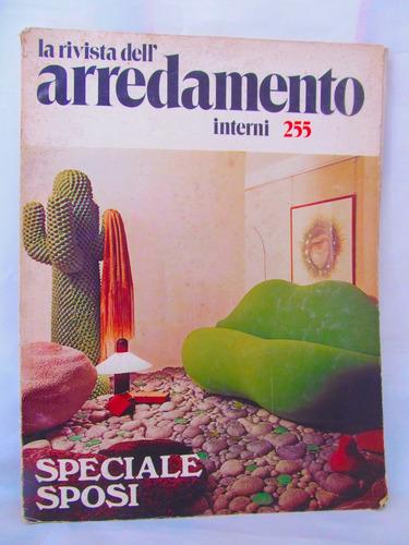 la rivista dell' arredamento interni 255 speciale sposi