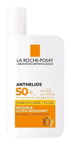 la roche posay anthelios protector solar fps50 shaka fluido ultraligero pieles sensibles