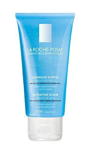la roche-posay ultra-fine scrub exfoliating facial cleanser,