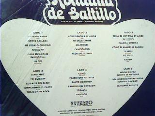 la rondalla de saltillo -  album 3 discos - casi nuevo