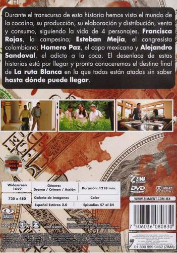 la ruta blanca hasta donde puede llegar ? volumen 3 tres dvd