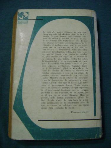 la ruta del dr. shannon, a. j. cronin