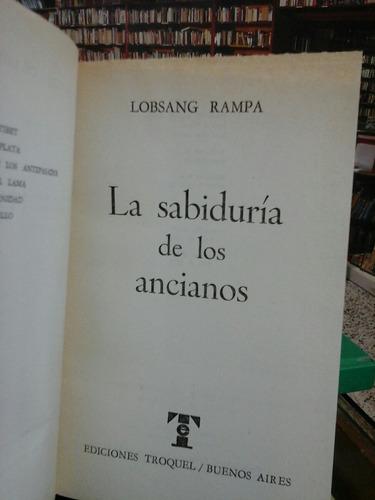 la sabiduría de los ancianos,  lobsang rampa, esoterismo.