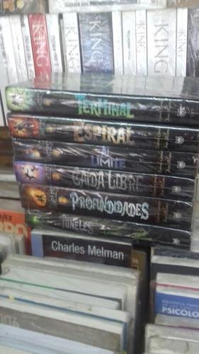 la saga completa de los tuneles original nuevo seis libros
