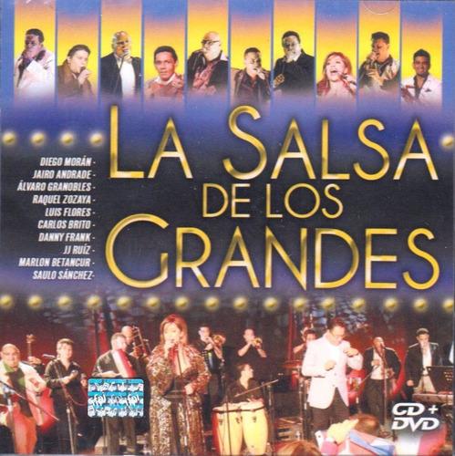 la salsa de los grandes en vivo volumen 1 y 2 dvd
