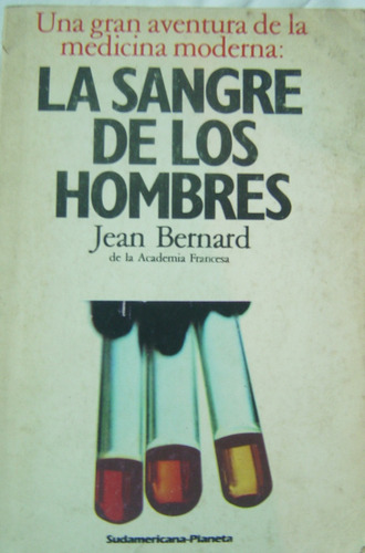 la sangre de los hombres / jean bernard