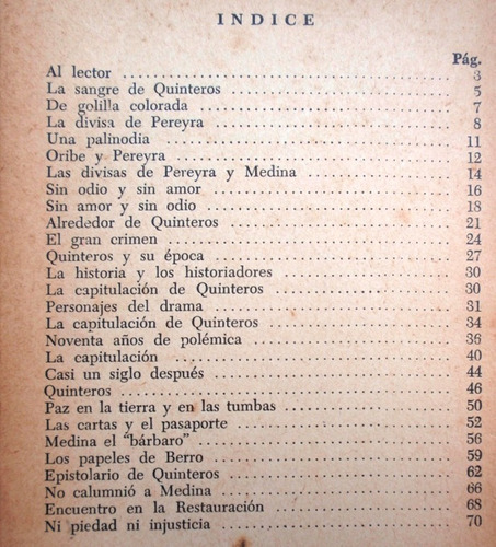 la sangre de quinteros luis bonavita año 1958 revolucion