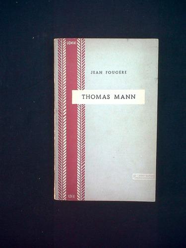 la seduzione della morte in thomas mann, jean fougere