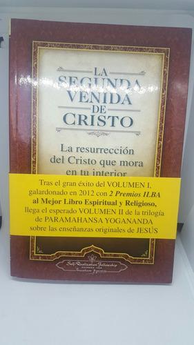 la segunda venida de cristo - libro novela