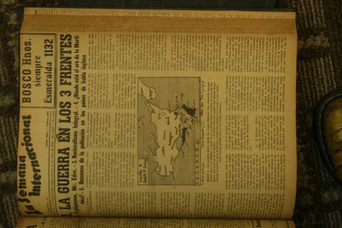 la semana internacional desde 29 junio 1940-1 enero de 1944