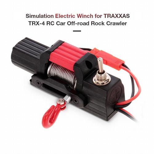 la simulación eléctrico del torno para traxxas trx-4 rc coch
