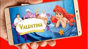 La Sirenita Vídeo Tarjeta Invitación Digital Cumpleaños