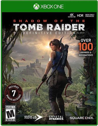 la sombra de tomb raider: edición definitiva - xbox one
