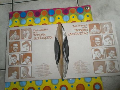 la sonora matancera lp los cantantes de la 1984 album doble