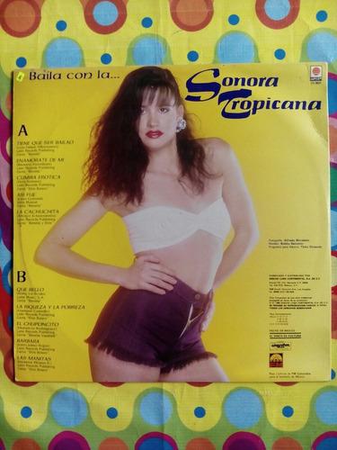 la sonora tropicana lp 1990 baila con