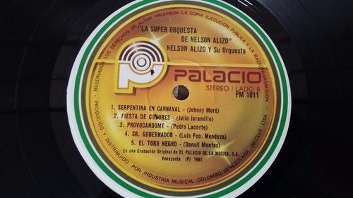 la super orquesta de nestor alizo lp vinilo cumbia