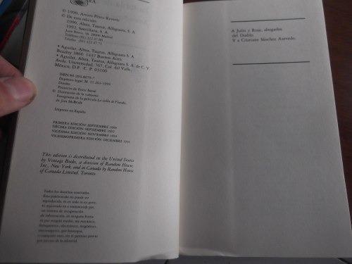 la tabla de flandes arturo perez reverte libro de la pelicul