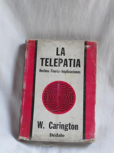 la telepatia w carington dedalo 1979