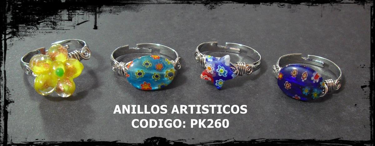 La tendencia para tus manos anillos de cristal de murano bs en mercado libre - Anillo cristal murano ...
