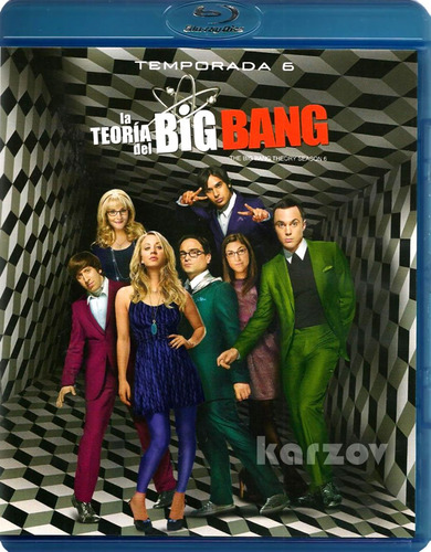 la teoria del big bang temporadas 1 2 3 4 5 6 blu-ray