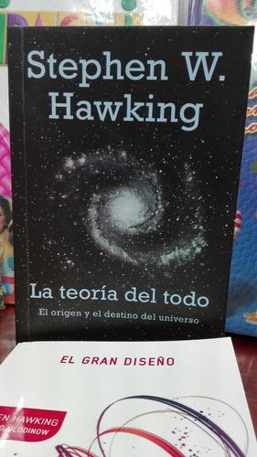 la teoria del todo de stephen hawking libro en oferta