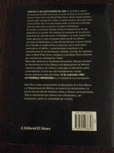 la terrible impostura, thierry meyssan, el ateneo primera ed