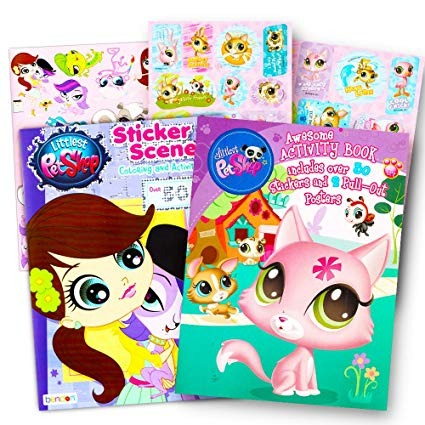 La Tienda De Animales Para Colorear Libro Super Set 2 Para