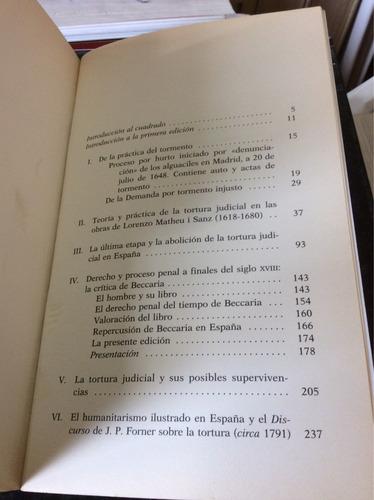 la tortura judicial en españa, francisco tomás y valiente