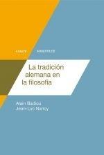 la tradición alemana en la filosofía - alan badiou
