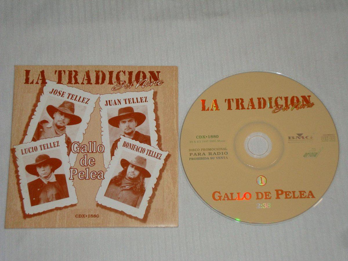 La Tradicion Del Norte - Gallo De Pelea Cd Promo Bmg ...
