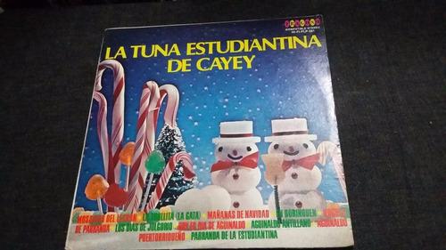 la tuna estudiantina de cayey lp vinilo coro navidad